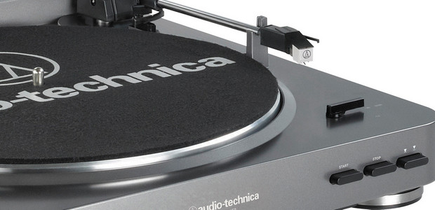 Audio-Technica AT-LP60 USB turntable spins your vinyl into MP3 files