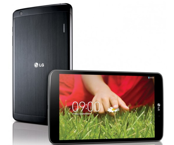 LG announces the G Pad 8.3 tablet with a few novel features onboard
