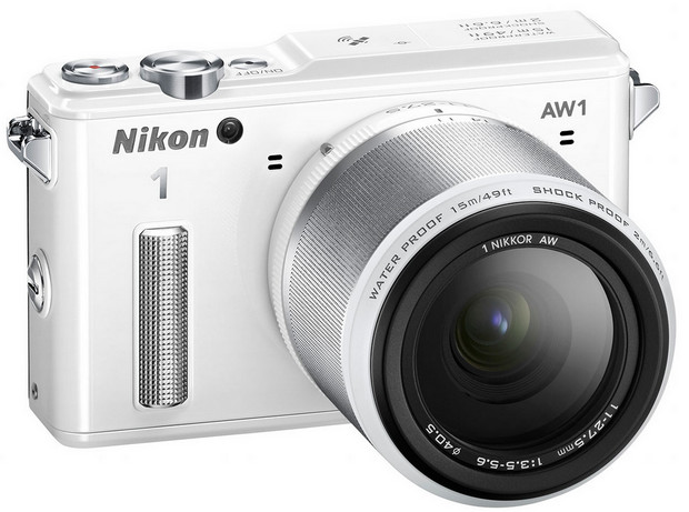 Nikon 1 AW1 declares itself to be the world's first waterproof and shockproof interchangeable lens camera