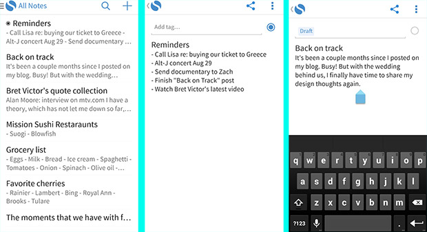 Simplenote note-taking app finally comes to Android, looks to take on Evernote and Keep