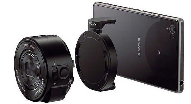 Sony baffle photographers with their oddball QX10 and QX100 camera modules for smartphones