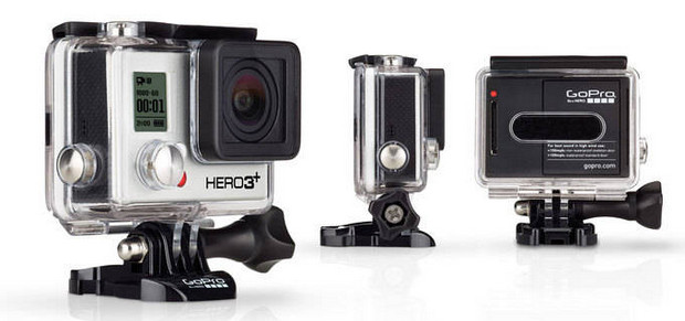 GoPro HERO3+ range of video cameras announced - smaller, lighter with better battery life