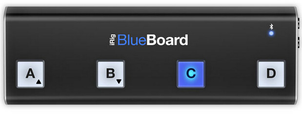 IK Multimedia announces iRig BlueBoard wireless MIDI pedalboard for musicians
