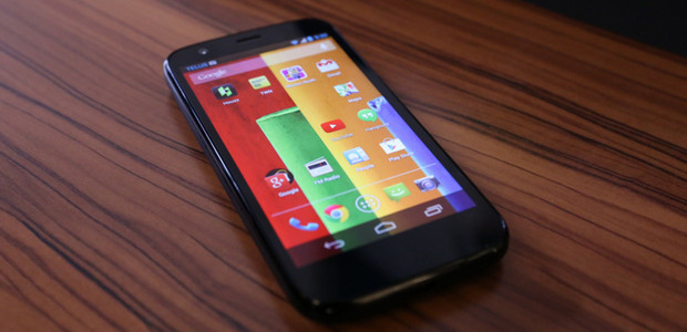 Google Motorola Moto G smartphone -  built to compete with the iPhone for a fifth of the cost