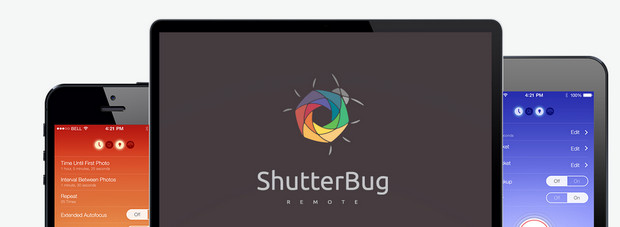 ShutterBug Remote lets you control your camera from your Android or iOS device
