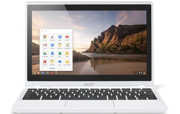 Acer C720p-2600 becomes the first touchscreen Chromebook, with €300 low price, full specs listed