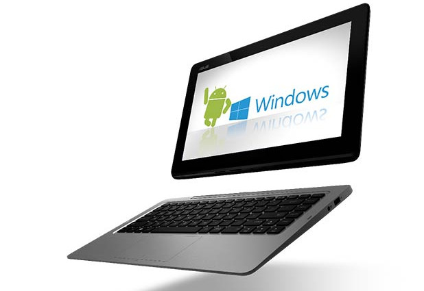Asus Transformer Book Duet TD 300 serves up instantly switching Windows and Android laptop/tablet