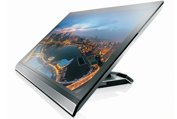 Lenovo 4k ThinkVision 28 PC touchscreen monitor with built in Android