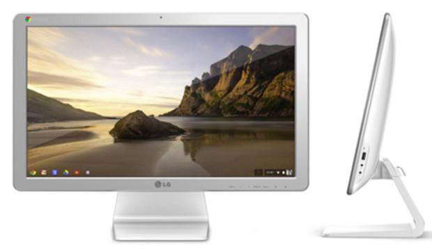 LG Chromebase all-in-ine desktop running Google's Chrome OS announced