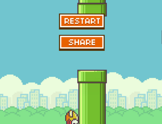 Flappy Bird lives on as a browser based game