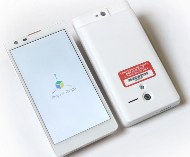 Google Project Tango 3D motion tracking phones look incredible