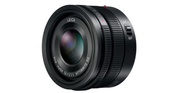 Panasonic announces fast and compact Leica DG Summilux 15mm F1.7 ASPH Micro Four Thirds lens