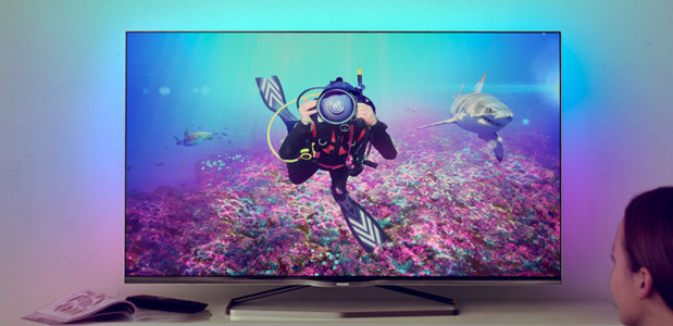 Philips announces ultra high definition 8809 series TVs running Android