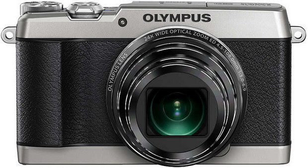 Olympus Stylus SH-1 retro compact packs 25-600mm and 5-axis stabilisation