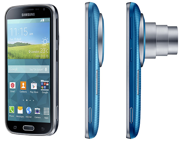 Samsung Galaxy K Zoom Android cameraphone packs 20MP sensor and 24-240mm zoom