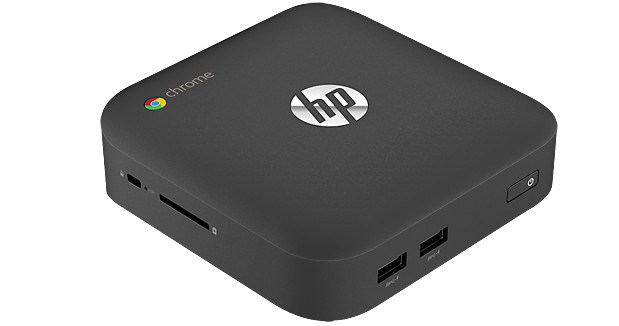 HP Chromebox comes with i7 and Celeron CPU options and oodles of connectivty