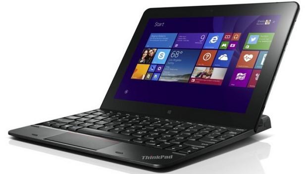 Lenovo unveils ThinkPad 10 tablet with keyboard accessories running 64-bit Windows 8.1