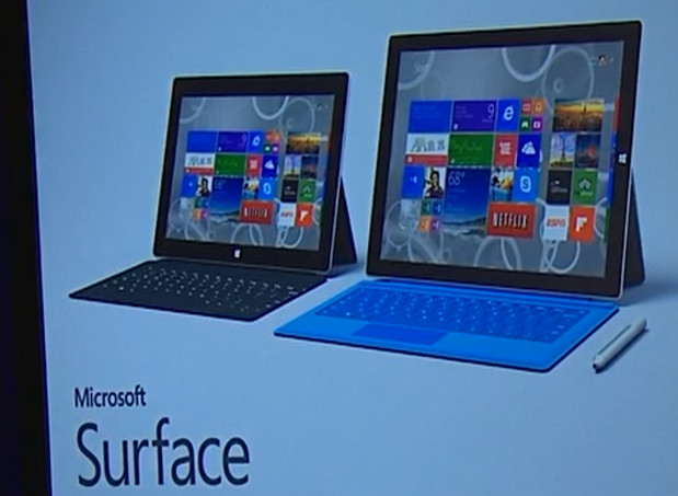 "Microsoft intros its 'laptop-replacing' Surface Pro 3 with 12"" display"