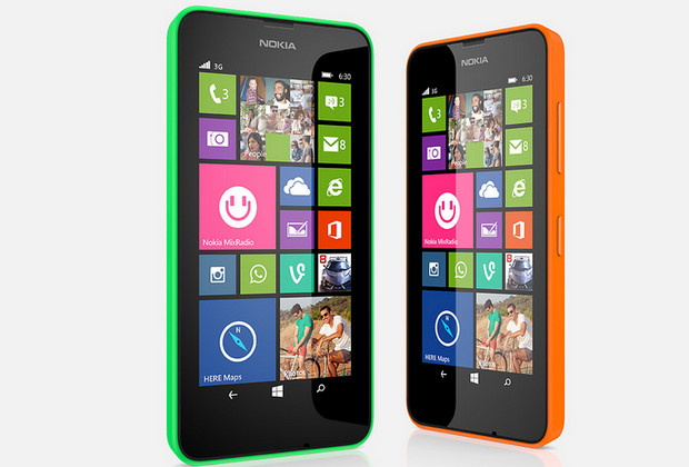 Cheapo Nokia Lumia 630 Windows Phone available in the UK next week
