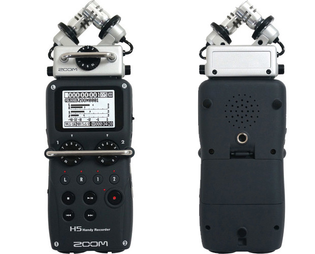 Zoom H5 offers high quality audio recording for pros on a budget