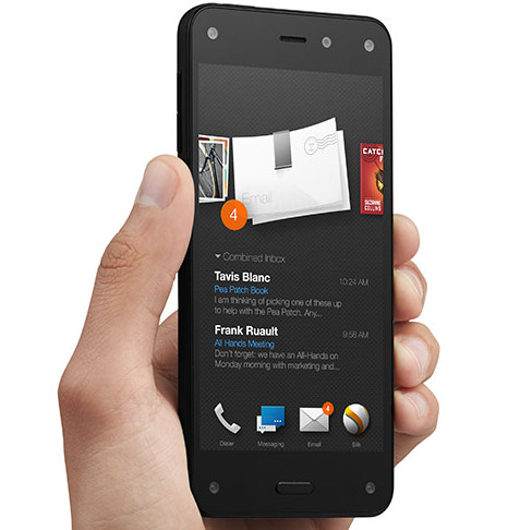 Amazon Fire Phone packs top notch specs, Dolby sound, 13MP camera and 3D effects