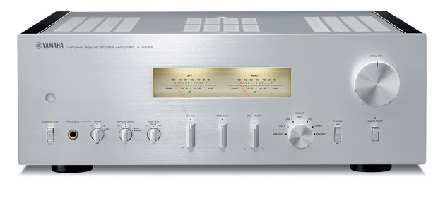 Yamaha S2100 CD/amp separates set the retro controls for 1970 and look a treat.
