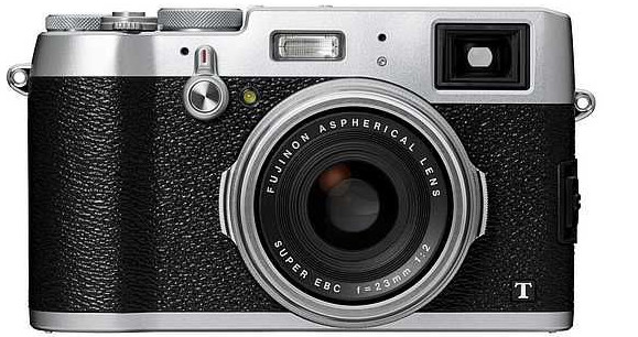 Fujifilm X100T third-gen enthusiast compact with APS-C sensor and f2 lens announced