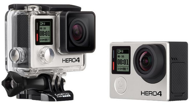 GoPro releases HERO4 in black and silver editions, plus entry-level HERO