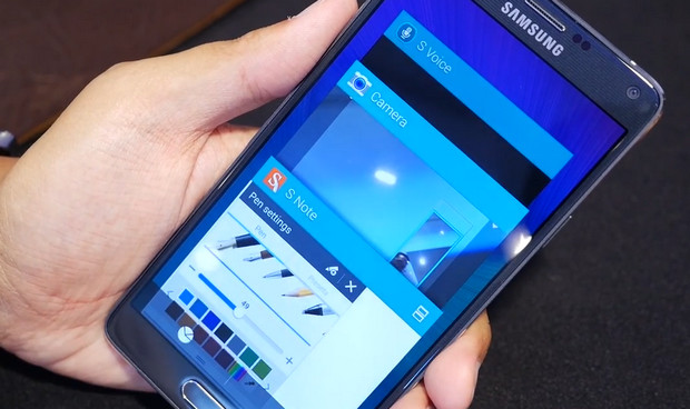 Samsung Galaxy Note 4 packs QuadHD screen, UV sensor, new S-Pen and loads more goodies