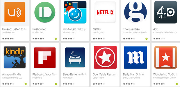 Google publishes a bumper list of Must-Have Android apps