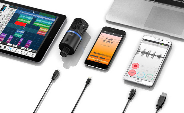 IK Multimedia announces iRig Mic Studio, a compact, large-diaphragm digital microphone