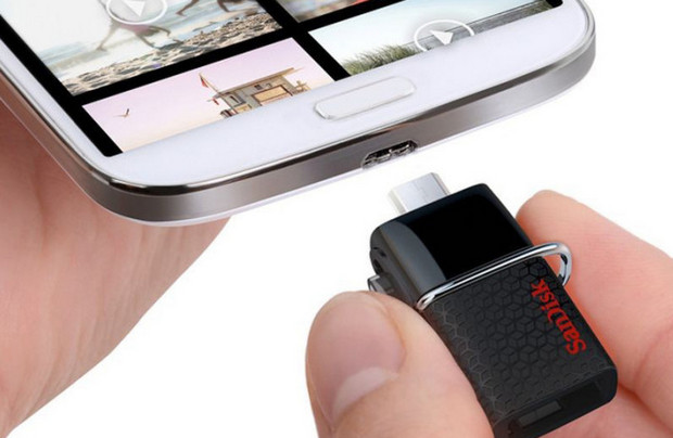 Swiftly add a shedload of storage to your Android phone with the SanDisk Dual USB Drive 3.0