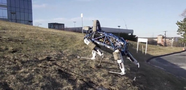 We've been darkly fascinated by the robotic developments from theBoston Dynamic boffins, with their videos of Big Dog being sufficient to spawn several nightmares.