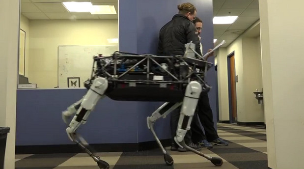 Meet the nimble, kick-resisting robot of the future called Spot from the Boston Dynamic team