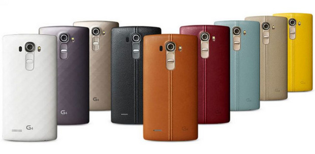 LG unveils the new LG G4 with super fast f1.8 camera