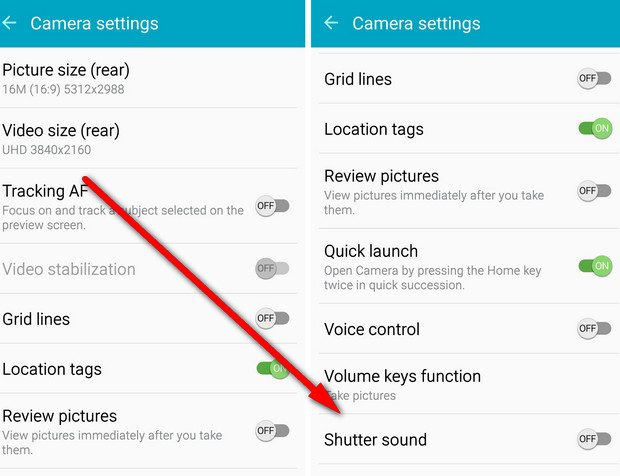 how to turn off camera sound on iphone how to definitely turn the annoying samsung galaxy s6 21138