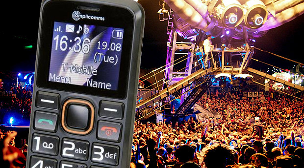 Smart Festival Phone – the amplicomms PowerTel M6300