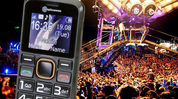 Smart Festival Phone – the amplicomms PowerTel M6300