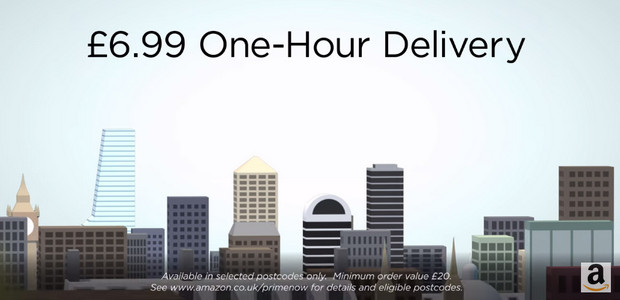Amazon's one-hour delivery service now available in central London