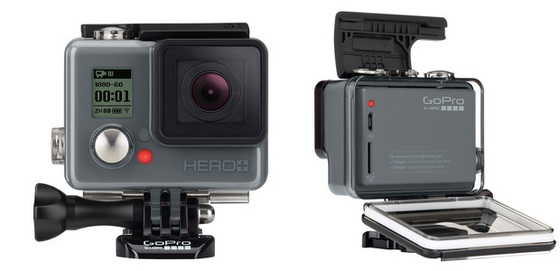 Entry-level GoPro HERO+ action camera with Wi-Fi announced