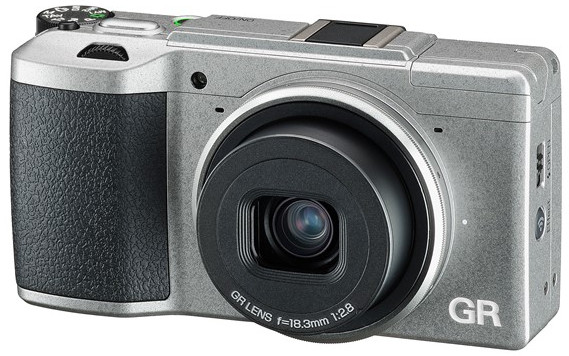 Is Rocoh losing the plot? Behold the pug-ugly Silver Edition of the Ricoh GR II APS-C compact
