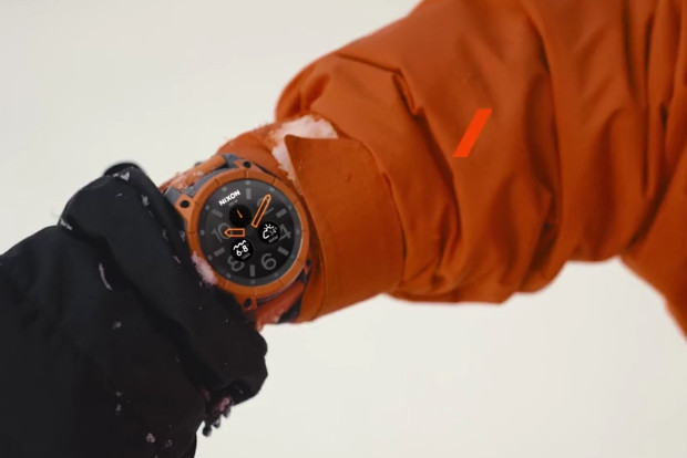 Nixon Mission 'ultra rugged' Android smartwatch looks to appeal to sporty snow types