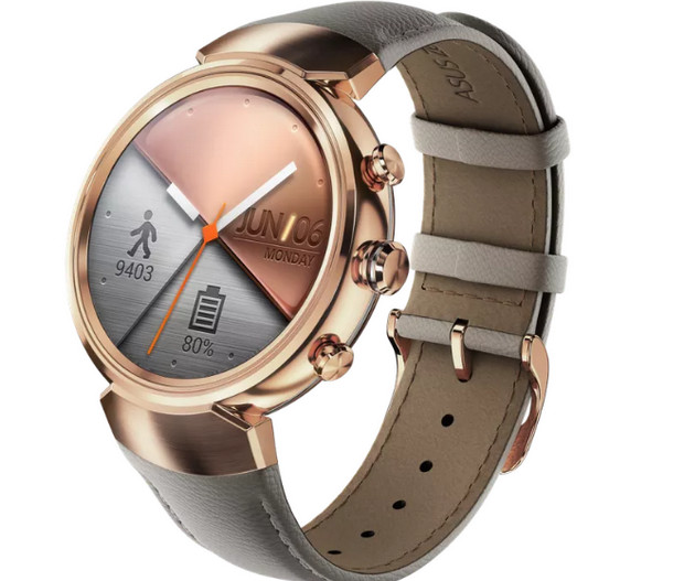 Square is just so square: Asus reveals styish ZenWatch 3 ...