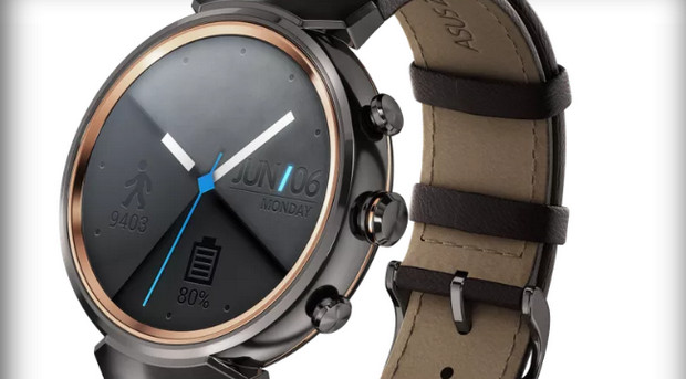 Asus reveals styish ZenWatch 3 Android Wear smartwatch