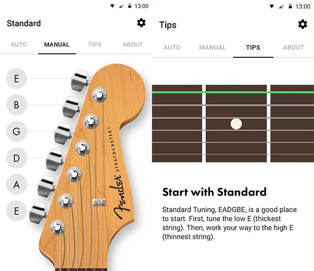 android axe players get fender s free guitar tuning app. Black Bedroom Furniture Sets. Home Design Ideas