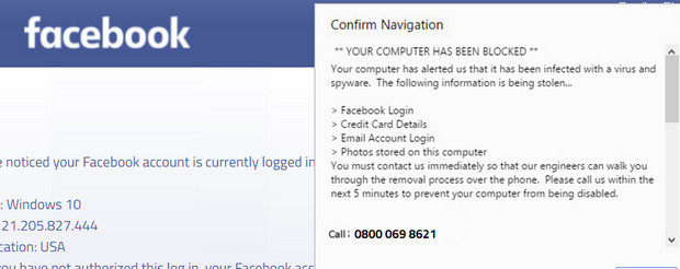 Don;t be fooled! Phishing Facebook advert claims that actor Hugh Laurie has 'taken his own life'