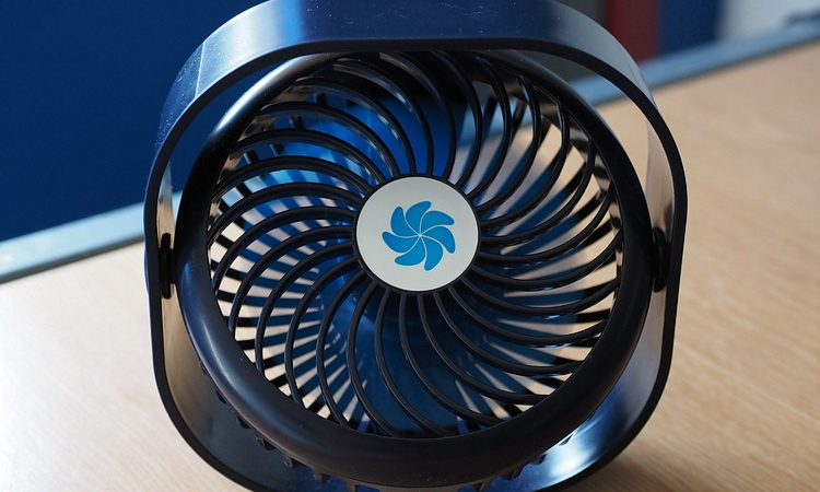 Looking for a powerful USB-powered desk fan for home/office use? Here's our fave!
